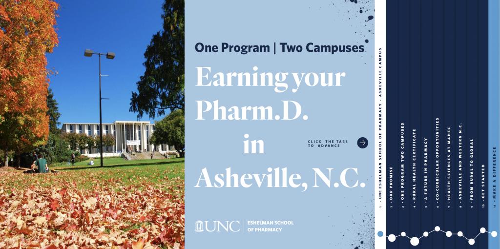 UNC Eshelman School of Pharmacy Asheville Guide