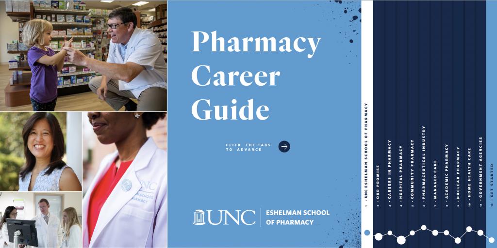 UNC Eshelman School of Pharmacy Career Guide