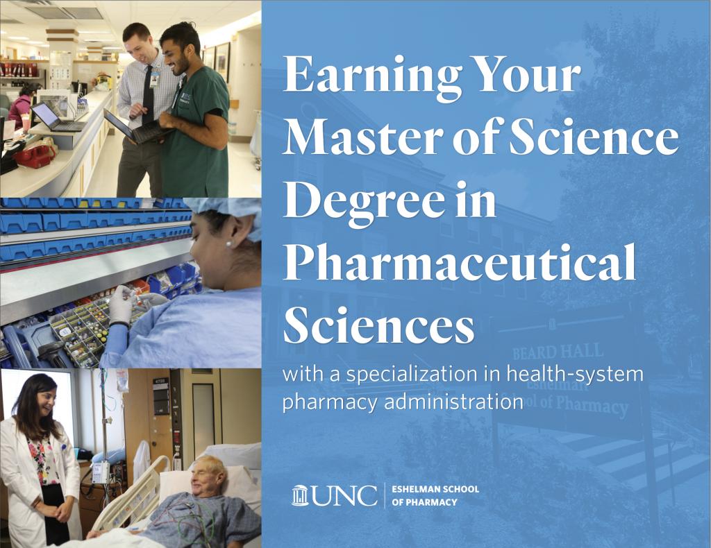 UNC Eshelman School of Pharmacy MS guide