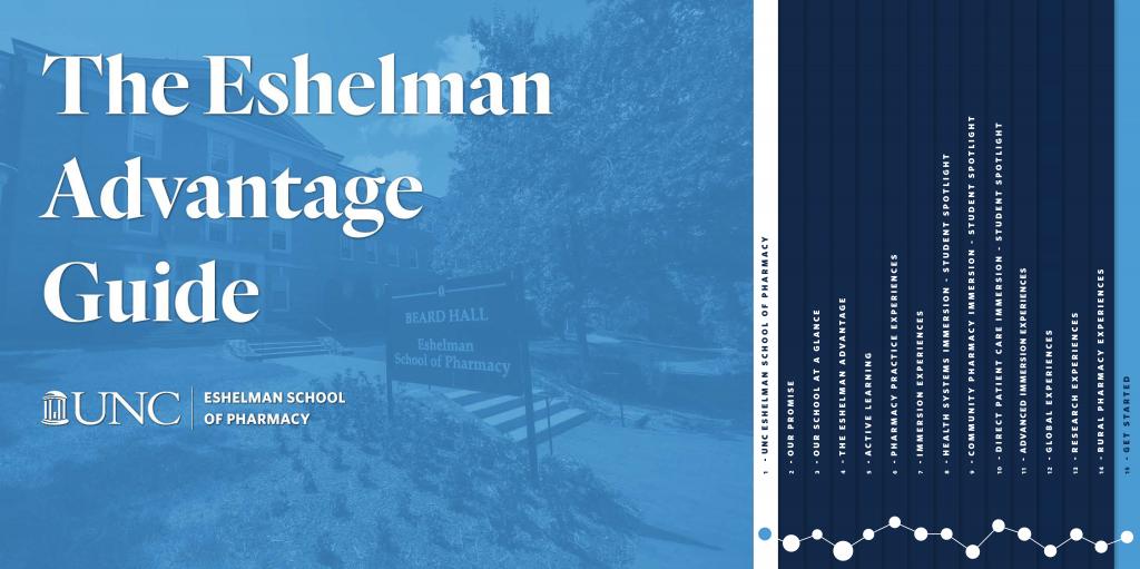 UNC-Eshelman-School-of-Pharmacy-Curriculum-Guide